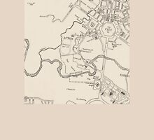 Canberra Tourist Map 1950 Unisex T-Shirt