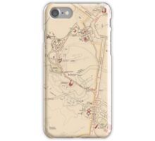 Canberra Acton Map 1933 iPhone Case/Skin