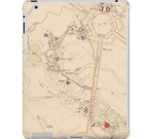 Canberra Acton Map 1933 iPad Case/Skin