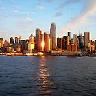 Glowing New York City by Nella Khanis