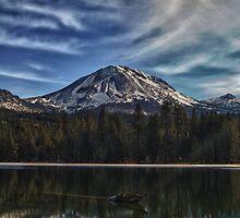 Mt. Lassen Reflection by dwservingHim