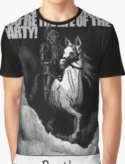 Hold My Steed. Graphic T-Shirt