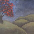 the tree on the hill by Shelly Cimoli
