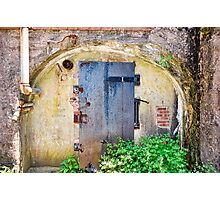 Bunker entrance Photographic Print