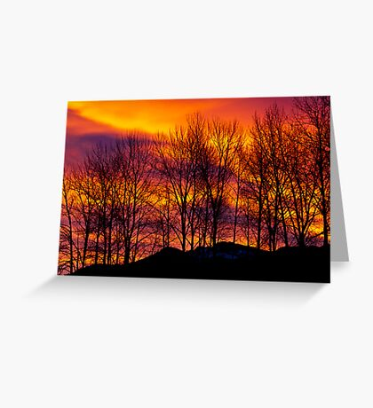 Sunrise Over Haystack Mountain Greeting Card