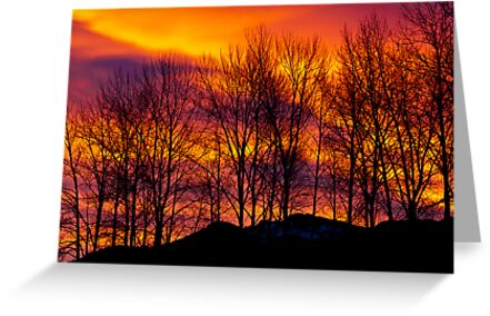 Sunrise Over Haystack Mountain by Jim Stiles
