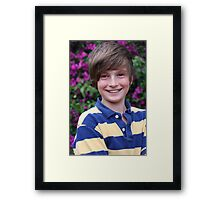 James Framed Print