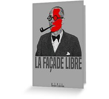 La Façade Libre Greeting Card