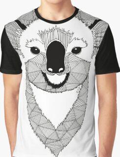 Koala black and white Graphic T-Shirt