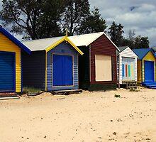 Dromana Beach Boxes by chrisg