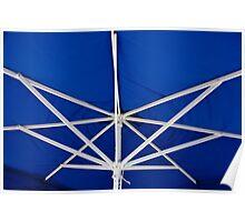 Umbrella Ribs Poster