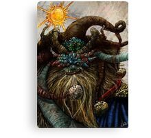Wishta Fool Tarot  Canvas Print