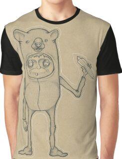 Bear Guy Spirit Animal Graphic T-Shirt