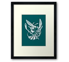 Hockey Hornet Framed Print