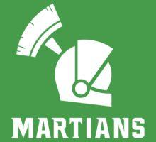 Mars State University Martians White Baby Tee