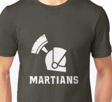Mars State University Martians White Unisex T-Shirt