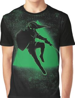 Silhouette Green Graphic T-Shirt