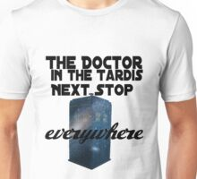 The Doctor in the TARDIS Unisex T-Shirt