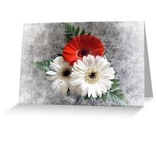 Bouquet. Greeting Card
