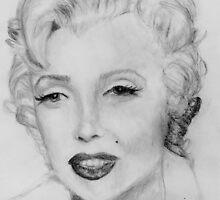 Marilyn Monroe by Nicole Schenk