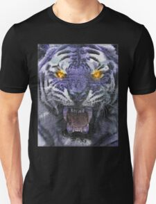 Psychedelic Tiger Poster T-Shirt