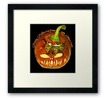 Happy Halloween from Little Utopia Framed Print