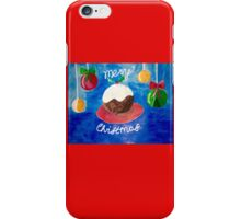 christmas pudding  iPhone Case/Skin