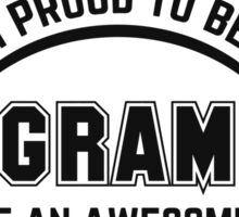 i am proud to be a programmer Sticker