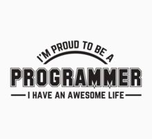 i am proud to be a programmer Baby Tee