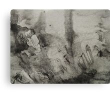 Ink Texture Canvas Print