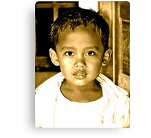 The Children of Bali Canvas Print