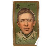 Benjamin K Edwards Collection Joe Tinker Chicago Cubs baseball card portrait 006 Poster