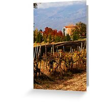 Autumn in Tuscany Greeting Card