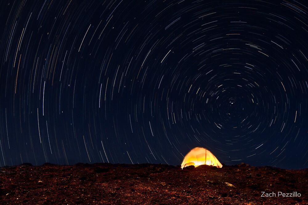 Haleakala Star Trails by Zach Pezzillo