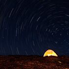 Haleakala Star Trails by Zach Pezzillo