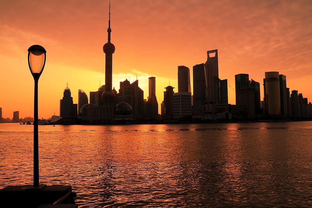 Shanghai Dawn  by ArtPhotographer