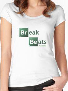 Break Beats Women's Fitted Scoop T-Shirt