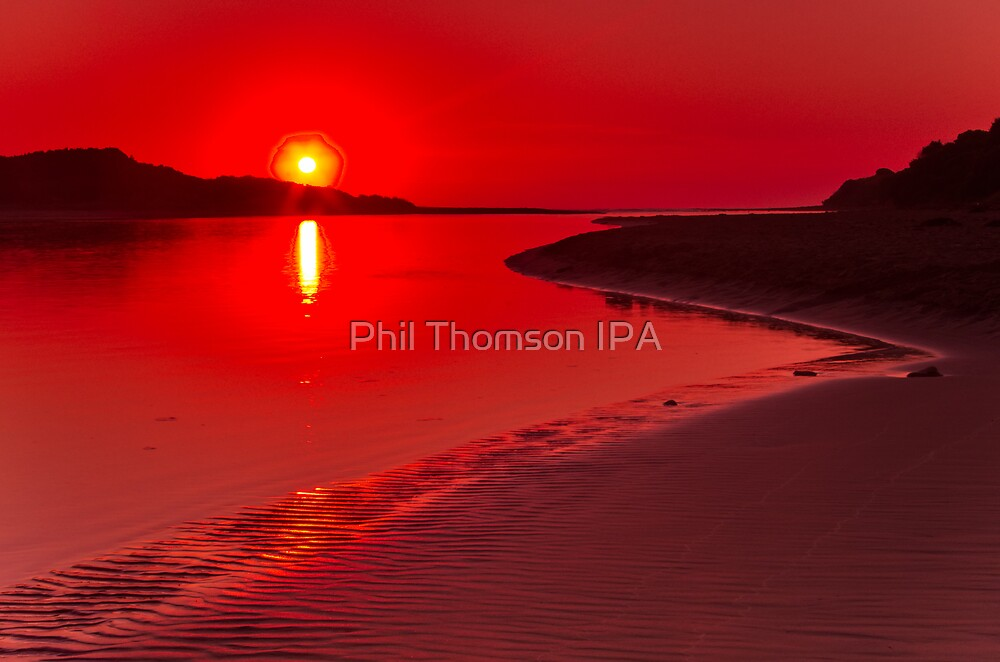 """""""Hot Summer's Dawn"""" by Phil Thomson IPA"""