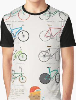 Bicycle Season Graphic T-Shirt