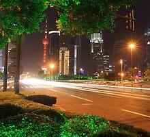 Shanghai Lujiazui Holiday Night  by ArtPhotographer