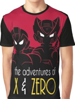 The Adventures of X & Zero Graphic T-Shirt