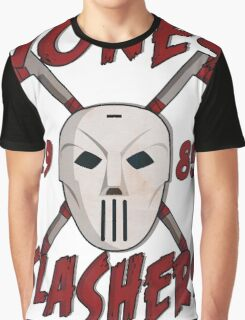 Jones Slashers Mask & CrossSticks Graphic T-Shirt