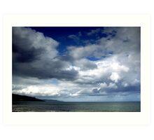Antrim Coastline Art Print