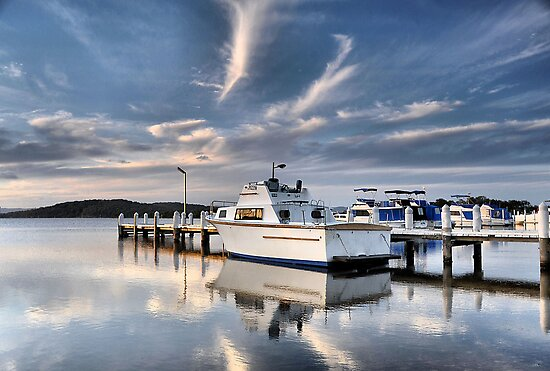 Swansea Australia  city photo : Bev Woodman › Portfolio › Swansea Wharf Swansea NSW Australia