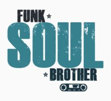 Funk Soul Brother Kids Tee
