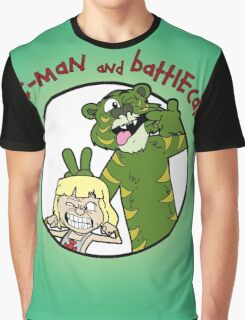 He-man and Battlecat Graphic T-Shirt