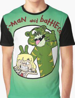 He-man and Battlecat Graphic T-Shirt