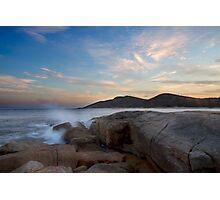 Bicheno coastal sunset - Tasmania Photographic Print