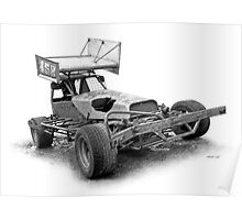 "#158 Tommy ""Wrecker"" Hollingworth Poster"