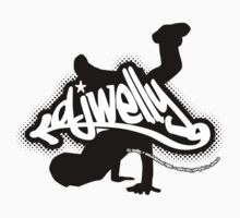 DJ Welly - Breaker Logo Kids Clothes